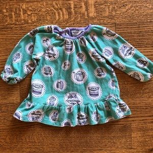 Mini Boden tea party top